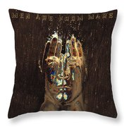 Men Are From Mars Gold Throw Pillow
