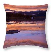 Mendenhall Sunset Throw Pillow