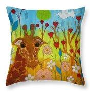 Mending Love Throw Pillow