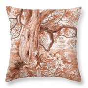 Mendocino Friend Throw Pillow