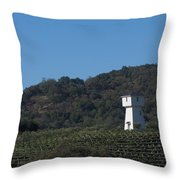 Mendocino Tankhouse Throw Pillow