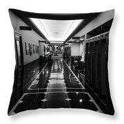 Menger Hotel Hall Throw Pillow