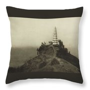 Mennie, Donald The Grandeur Of The Gorges. Fifty Photographic Studies... Of China's Great Waterway,  Throw Pillow