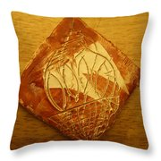 Mensa Man - Tile Throw Pillow