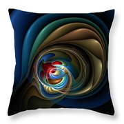 Mental Squirrel Cage Throw Pillow