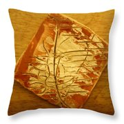 Mention - Tile Throw Pillow