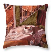 Mentre Ti Aspetto Throw Pillow