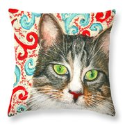 Meow Please... Throw Pillow