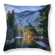 Merced Reflection Throw Pillow