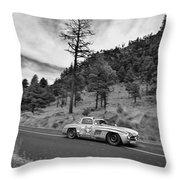 Mercedes Benz 300sl La Carrera Panamericana 2015 Throw Pillow