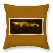 Mercedes Benz 300sl Triple Throw Pillow