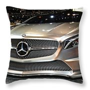 Mercedes Benz Style Coupe Concept Number 1 Throw Pillow