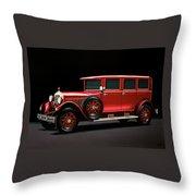 Mercedes-benz Typ 300 Pullman Limousine 1926 Painting Throw Pillow