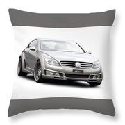 Mercedes Throw Pillow