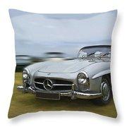 Mercedes benz 300sl digital art by gordon hart for Mercedes benz blanket