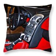 Mercedes Slr Concept Car Interior Throw Pillow