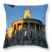Merchant Exchange Building - Philadelphia Throw Pillow