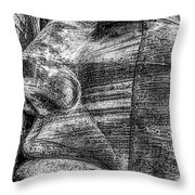 Merchant Seafarers War Memorial Cardiff Bay Black And White Throw Pillow