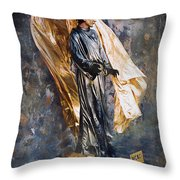Merci Sacre Coeur Paris France Throw Pillow