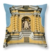 Mercid Church Antigua Guatemala Throw Pillow