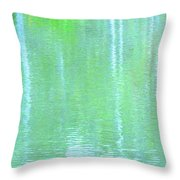 Merciful Is The Love That Watches Throw Pillow