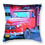 Mercurio Throw Pillow