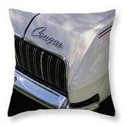 Mercury Cougar Xr7 Emblem Throw Pillow