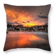 Meredith Sunset Throw Pillow