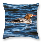 Merganser Throw Pillow