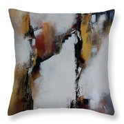 Merge And Flow Throw Pillow