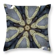 Merging Throw Pillow