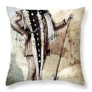 Meriwether Lewis Throw Pillow
