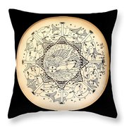 Mermaid-2 Throw Pillow