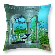 Mermaid Home Throw Pillow