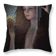 Mermaid Throw Pillow by Jane Whiting Chrzanoska
