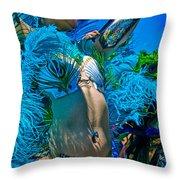 Mermaid Parade Participant Throw Pillow