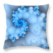 Mermaid's Dream Throw Pillow