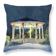 Merry And  Bright II Throw Pillow