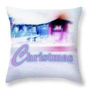 Merry Christmas #181 Throw Pillow