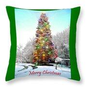 Merry Christmas 2015 Throw Pillow
