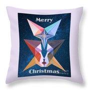 Merry Christmas - 2017 Throw Pillow