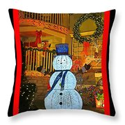 Merry Christmas Everybody Throw Pillow