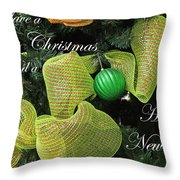 Merry Christmas Throw Pillow