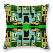 Merry Christmas Tales Throw Pillow