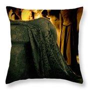 Merry Meet Throw Pillow