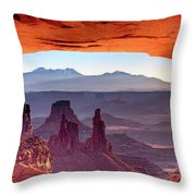 Mesa Arch 4 Throw Pillow