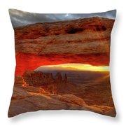 Mesa Arch 6 Throw Pillow
