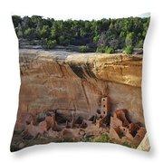 Mesa Dwelling Throw Pillow