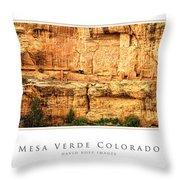 Mesa Verde Colorado Gallery Series Collection Throw Pillow