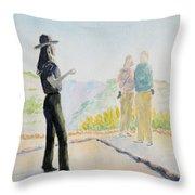 Mesa Verde Ranger Throw Pillow